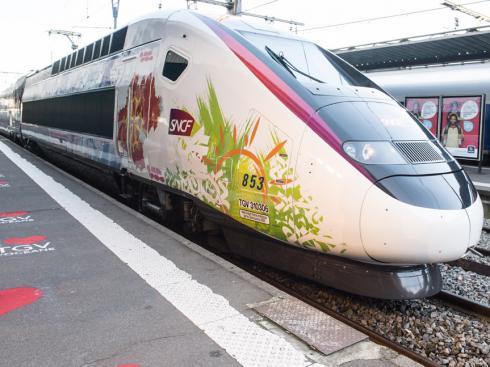 TGV: trafic interrompu entre Bordeaux et Paris ce matin